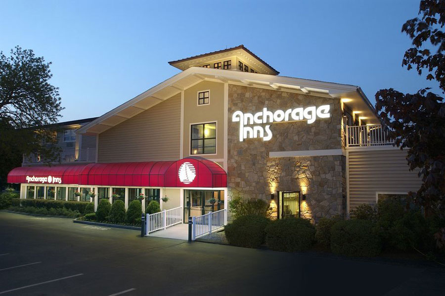 exterior of Anchorage Inns & Suites Portsmouth